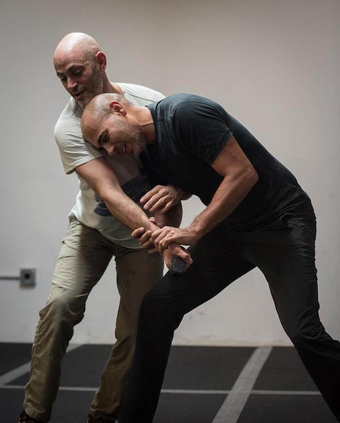Leo wrestling with Jesse